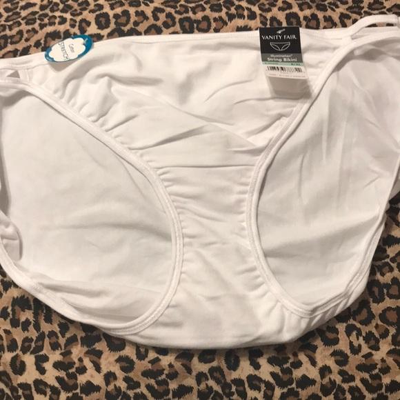 5b99ab82fab1 Vanity Fair Intimates & Sleepwear | Nwt String Bikini Panty 8xl ...